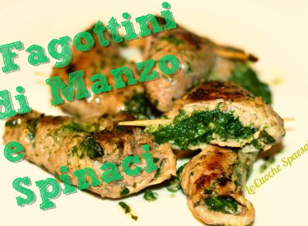 Fagottini di Manzo e Spinaci