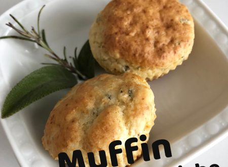 Muffin salati alle erbe aromatiche