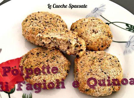 Polpette di fagioli e quinoa