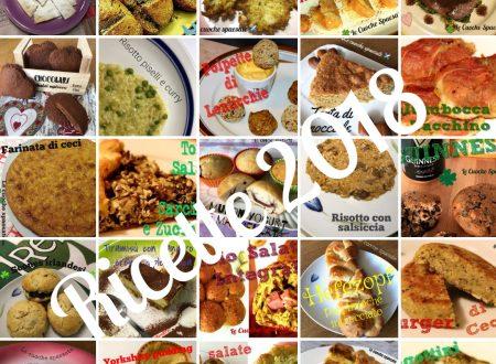 Le cuoche spaesate – tutte le ricette del 2018