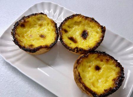 Pasteis de nata – dolcetti portoghesi, ricetta light