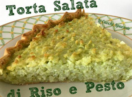 Torta Salata di Riso e Pesto