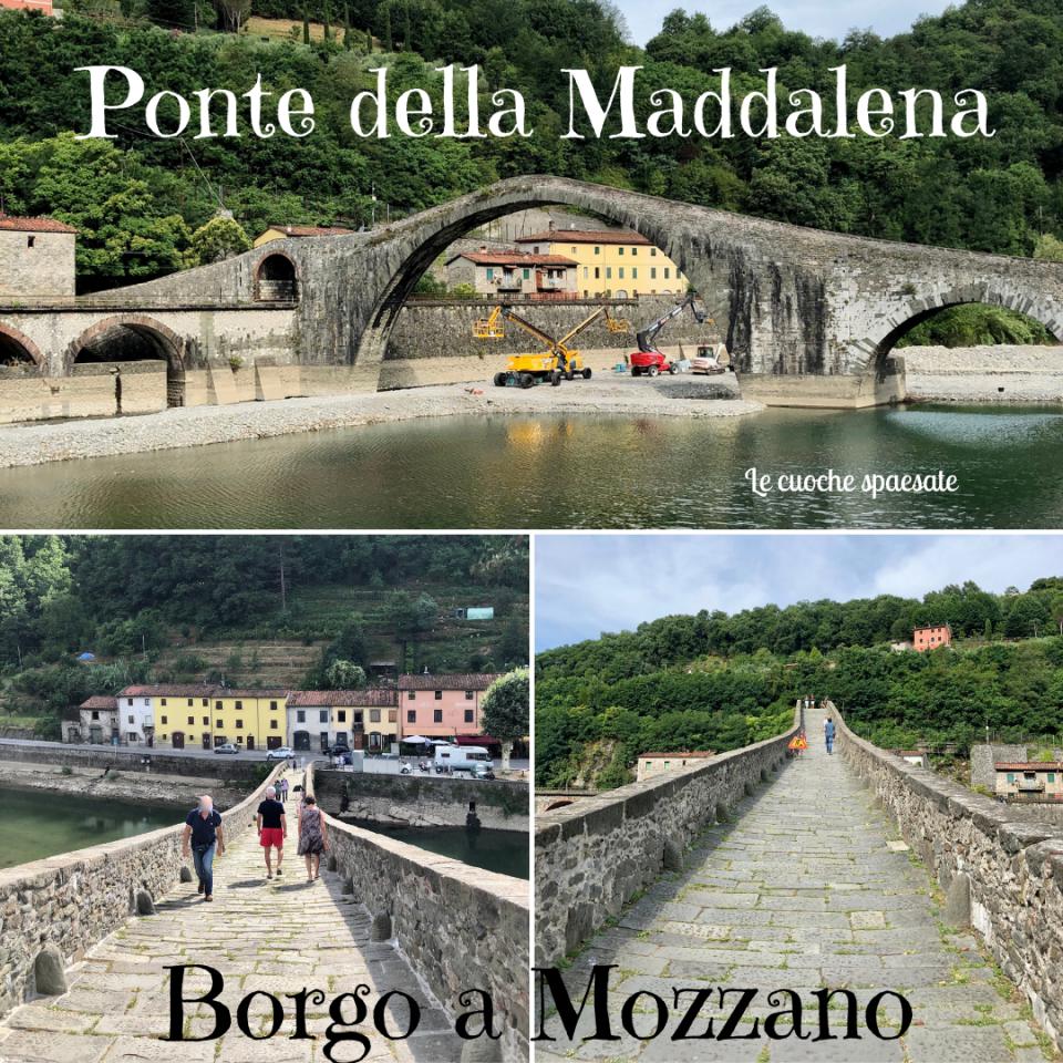 Ponte della Maddalena - Borgo a mozzano, ponte del diavolo