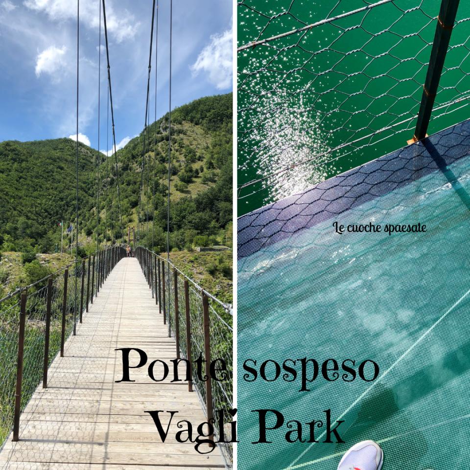 Ponte sospeso Vagli Park