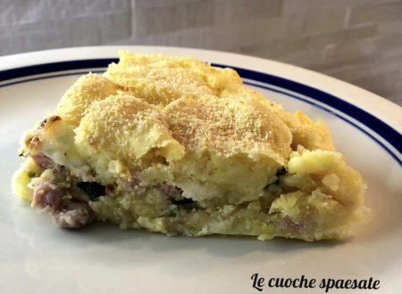 Torta Salata di Patate e Zucchine