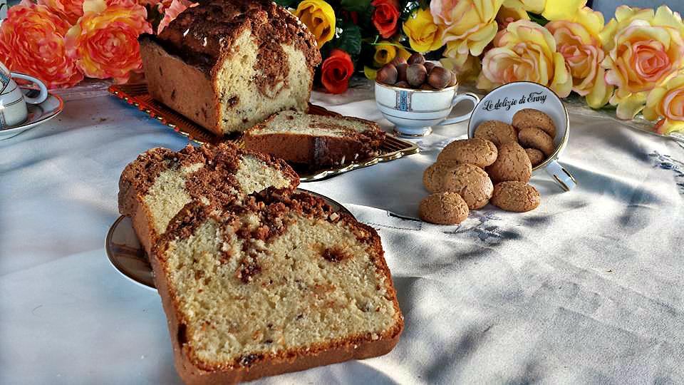 plumcake con nocciole