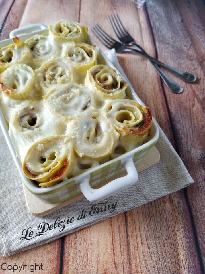 lasagne arrotolate