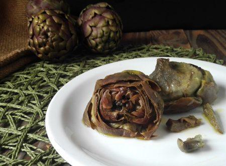 CARCIOFI ALLA ROMANA, piatto tradizionale laziale