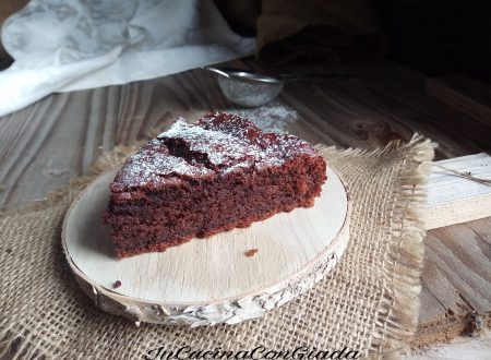 TORTA ALL' ACQUA CALDA E CACAO