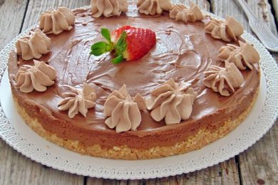 CHEESECAKE AL SUPER CIOCCOLATO