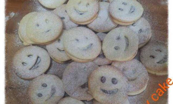 Biscotti smile di pasta frolla