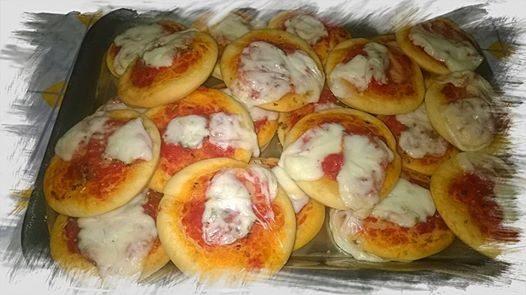 Pizzette per le feste ……