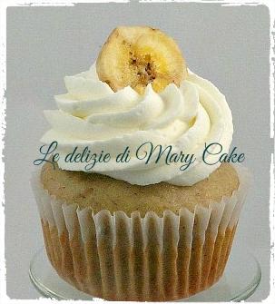 Cup cake alla banana