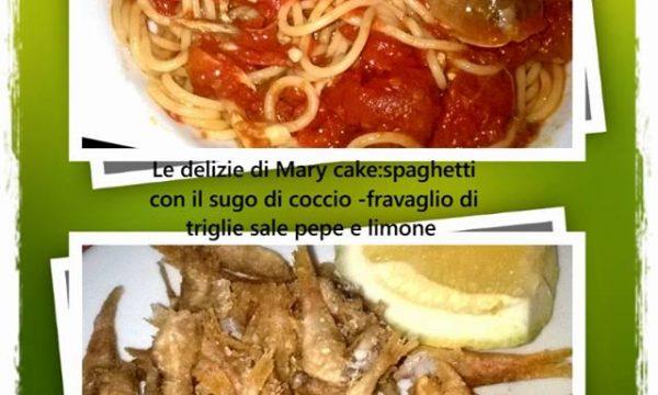 Spaghetti al sugo di coccio e fravaglio di triglie