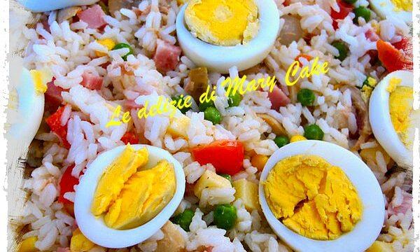 Insalata di riso a modo mio!
