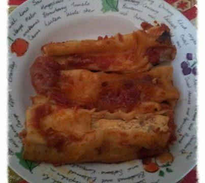 Cannelloni con ricotta e carne macinata
