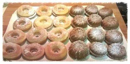 Ciambelline e mini muffin