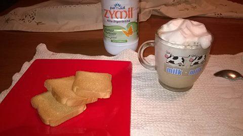 Cappucino Bimby Latte Parz Scremato NO FARFALLA