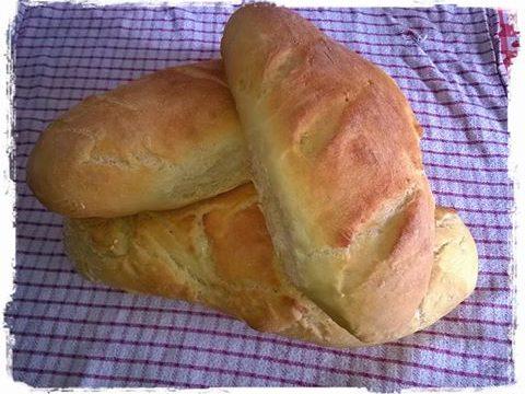 Pane con farina di semola :-)