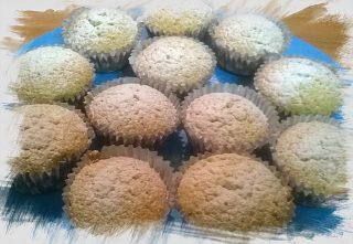 Impasto base per cupcake
