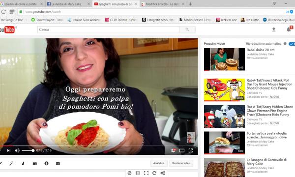 Spaghetti con polpa di pomodoro Pomì Bio | #LeDelizieDiMaryCake