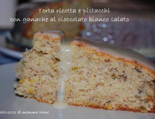 TORTA PISTACCHI CIOCCOLATO BIANCO