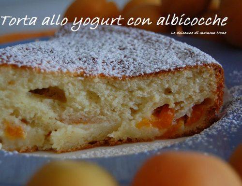 TORTA ALLO YOGURT E ALBICOCCHE (senza burro)