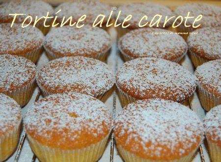 TORTINE DI CAROTE (senza mandorle)