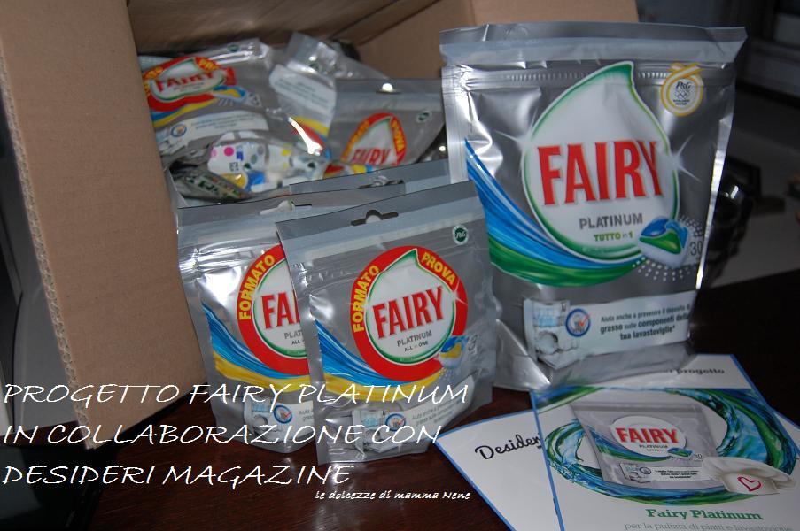 Fairy platinum le dolcezze di nene for Cucinare nella lavastoviglie