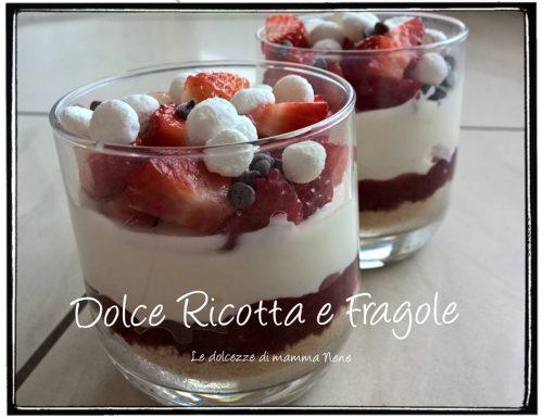DOLCE RICOTTA E FRAGOLE