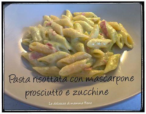 Ricetta bimby pasta zucchine e speck