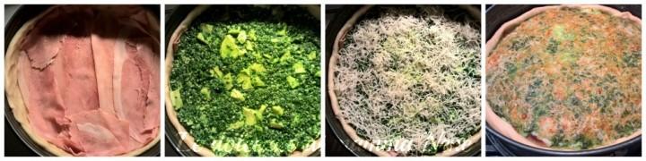 torta salata rucola e grana