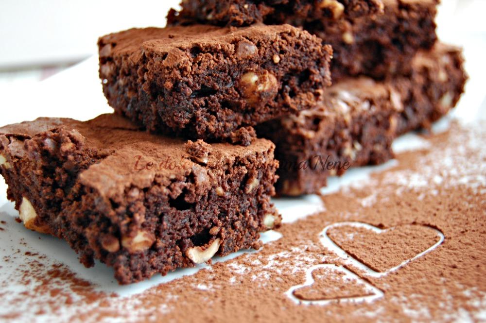 Ricetta Brownies Bimby Senza Burro.Brownies Ricetta Facile Con Il Bimby Ma Anche Senza