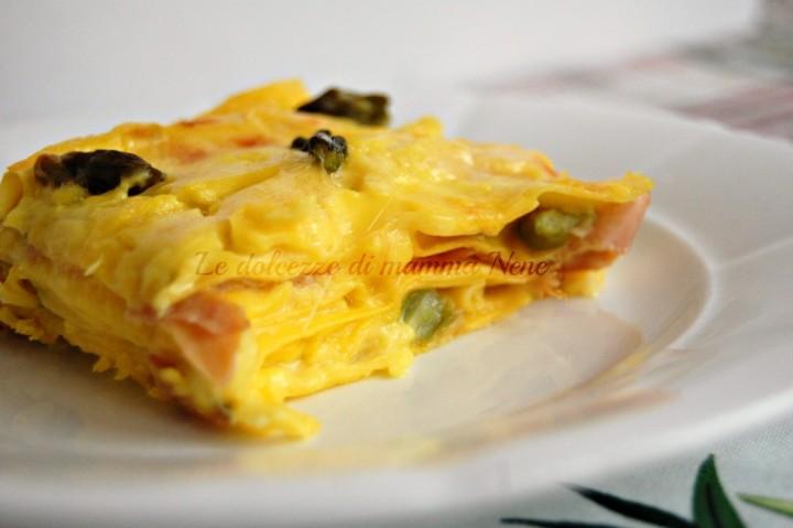 lasagne asparagi e speck