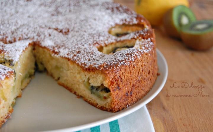 Torta Morbida Kiwi e Limone