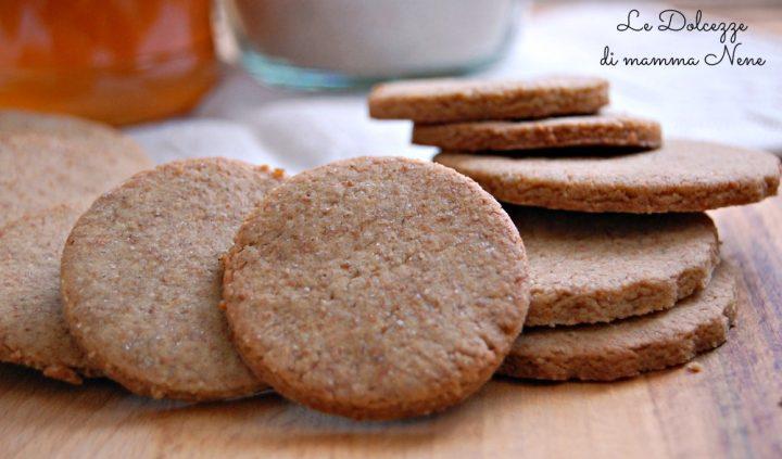 Biscotti con Farro e Miele