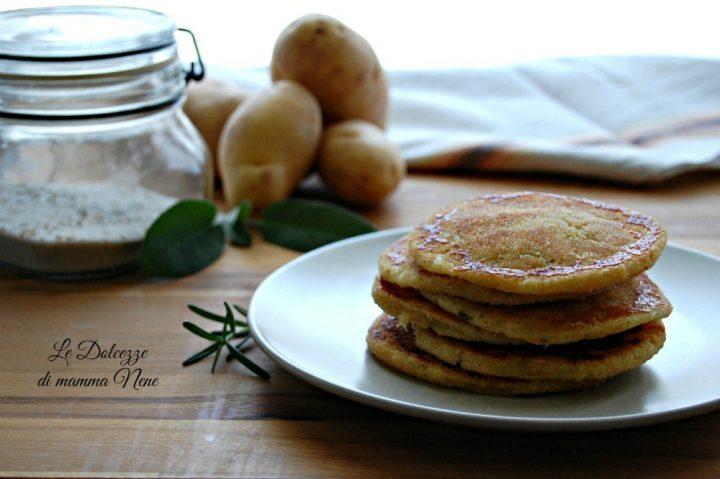 Schiacciatine di Patate e Mozzarella