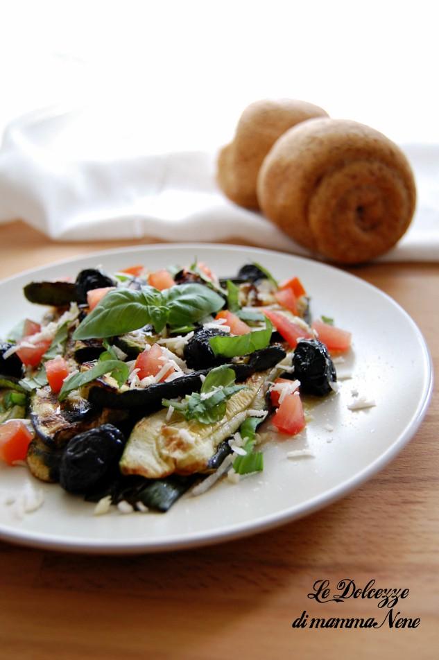 zucchine grigliate condite