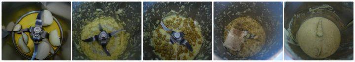 Pasta con crema di piselli e robiola