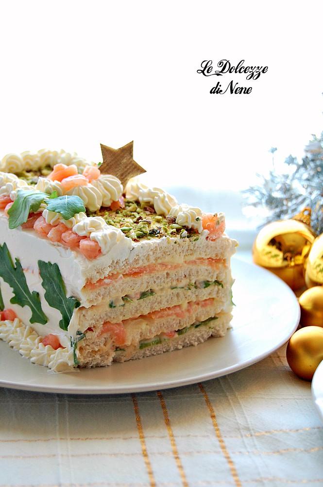 torta tramezzino salata