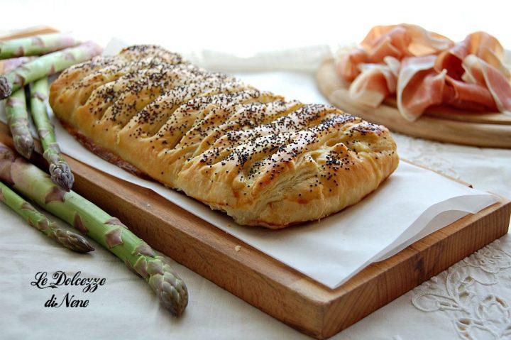 Strudel Salato con Asparagi
