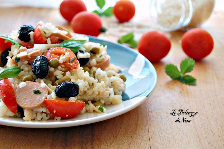insalata di riso svuota frigo