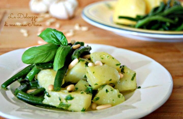 Patate e Cornetti al Basilico