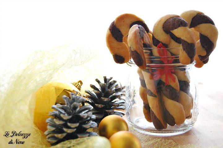 biscotti bastoncino di Natale