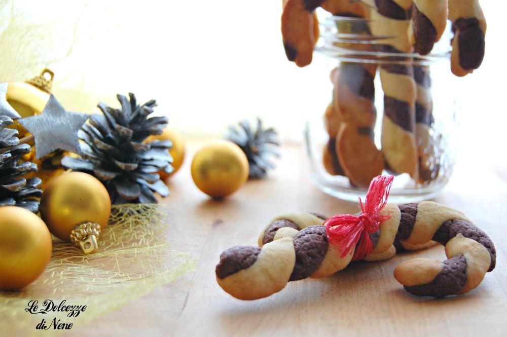 I biscotti bastoncino di Natale