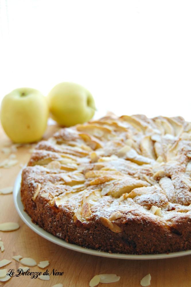 torta alle mele con farina integrale