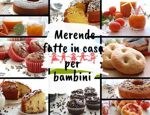 MERENDE FATTE IN CASA PER BAMBINI