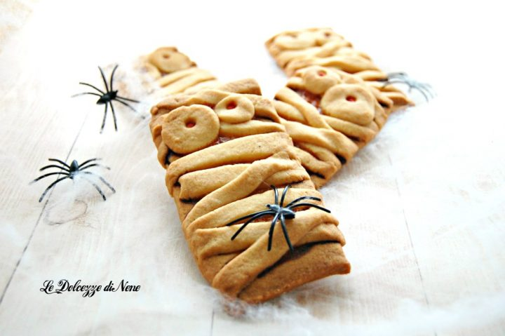 mummie di pasta frolla