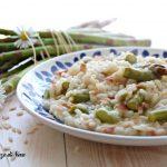 risotto con asparagi e speck