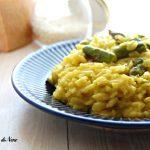risotto zafferano e asparagi